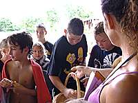 Großer Kindernachmittag im Freibad 2009