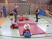 Bobbycar-Führerschein der Kleinsten